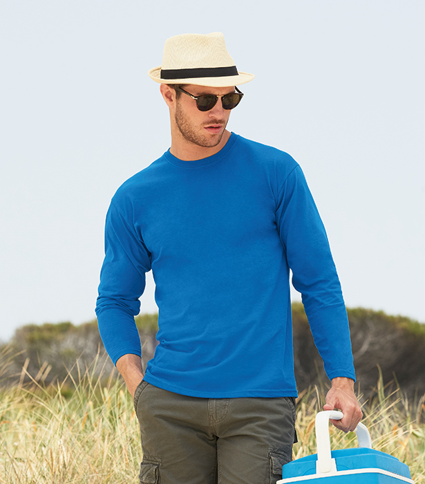 VALUEWEIGHT LONG SLEEVE T ARTICLE - 61038