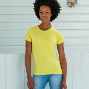 Women's T-shirt with fashionable fit. Slim but not tight – Article No.155F