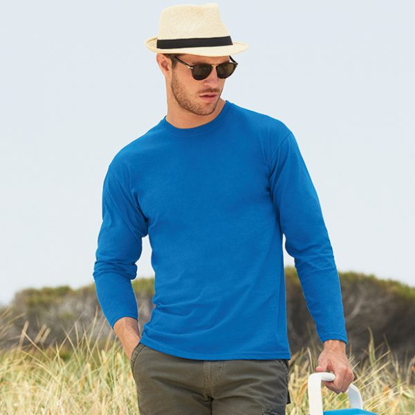 VALUEWEIGHT LONG SLEEVE T-SHIRT – 61038